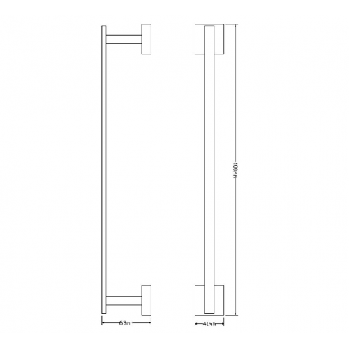 Rankšluosčių kabykla Omnires Lift 40cm