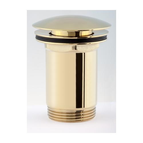 Praustuvo dugno vožtuvas Click Clack Omnires A706GL, aukso spalvos