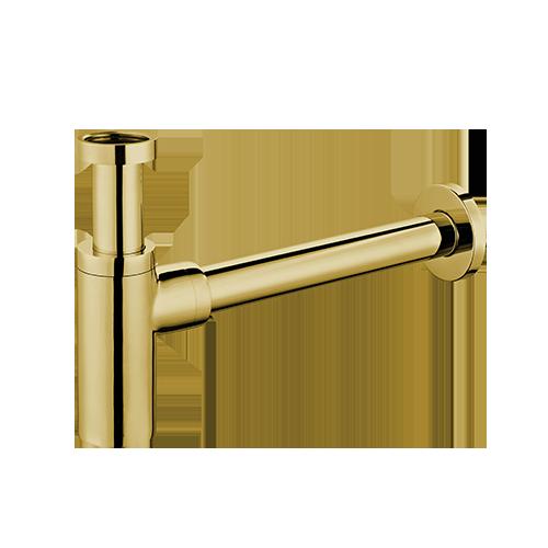 Sifonas praustuvui Omnires A186GL, aukso spalvos