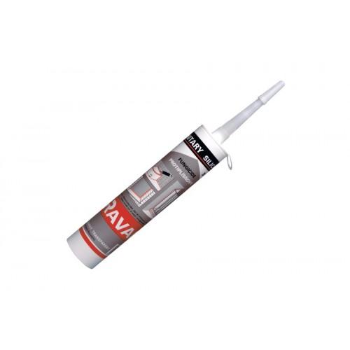 Silikoninis glaistas RAVAK Professional baltas, 310 ml
