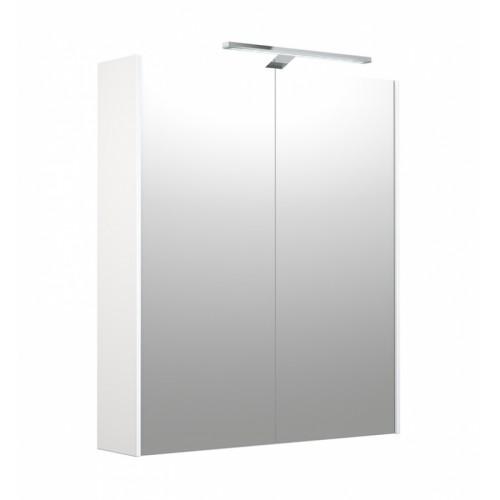 Kame D-Line Garda 60cm veidrodinė spintelė su LED apšvietimu (spalvų pasirinkimas)
