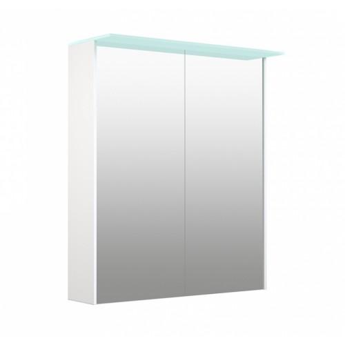 Kame D-Line Vetro 60cm veidrodinė spintelė su LED šviečiančiu stogeliu (spalvų pasirinkimas)