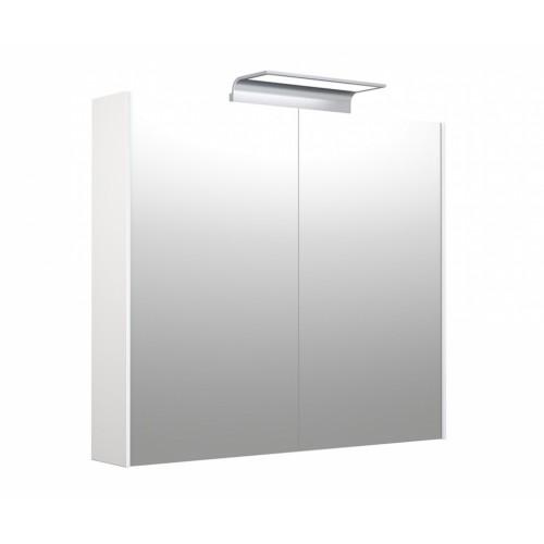 Kame D-Line Wave 80cm veidrodinė spintelė su LED apšvietimu (spalvų pasirinkimas)