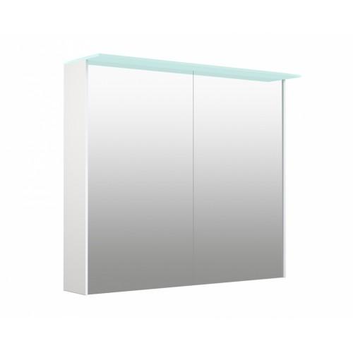 Kame D-Line Vetro 80cm veidrodinė spintelė su LED šviečiančiu stogeliu (spalvų pasirinkimas)