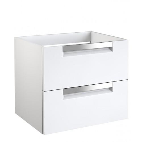 Kame Evoke 60x45cm apatinė spintelė su stalčiais, rankenos chromuotos (spalvų pasirinkimas)