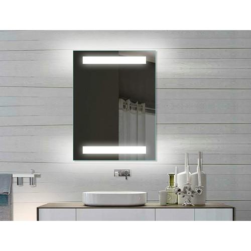 Vonios kambario veidrodis Lux-Aqua SPE8060H, su LED apšvietimu, 80*60 cm