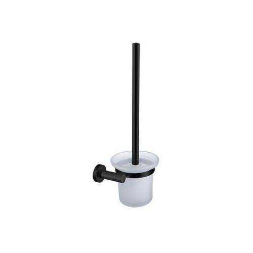 Pakabinamas tualetinis šepetys Omnires Modern project juodas matinis