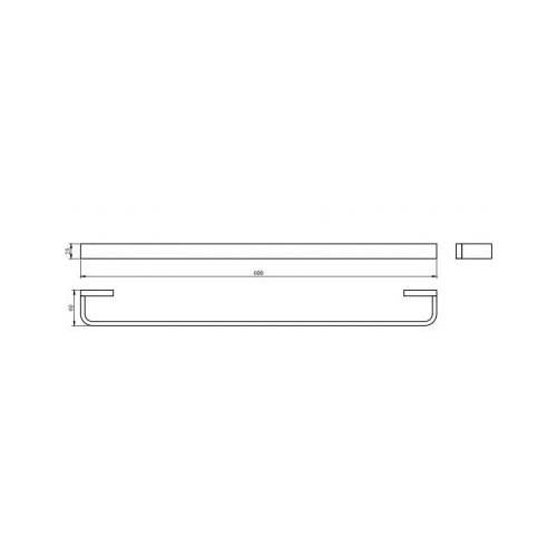 Rankšluosčių kabykla Omnires Reno 60 cm