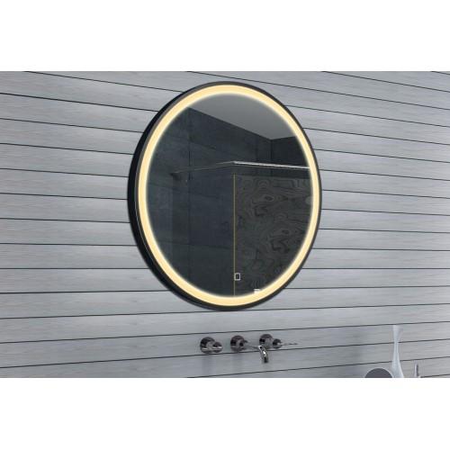 Vonios kambario veidrodis Lux-Aqua MFA80  su LED apšvietimu 800x800mm