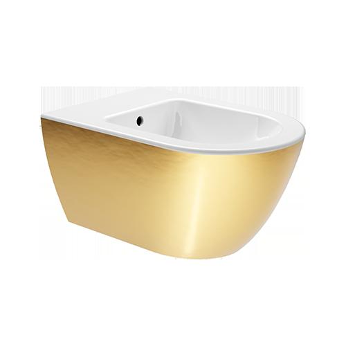 GSI White Gold pakabinama bidė, Extraglaze danga