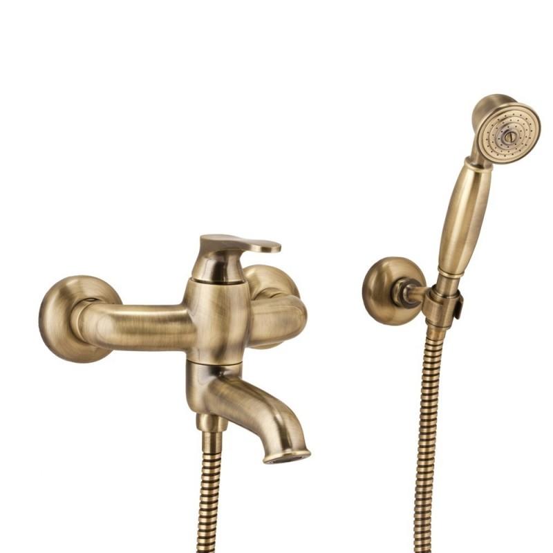Bronzinis maišytuvas voniai Omnires Art Deco