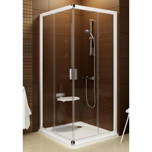Kvadratinė dušo kabina Ravak Blix BLRV2K+BLRV2K 800*800 mm