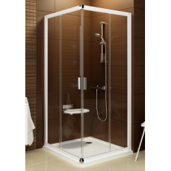 Kvadratinė dušo kabina Ravak Blix BLRV2K+BLRV2K 1000*1000 mm