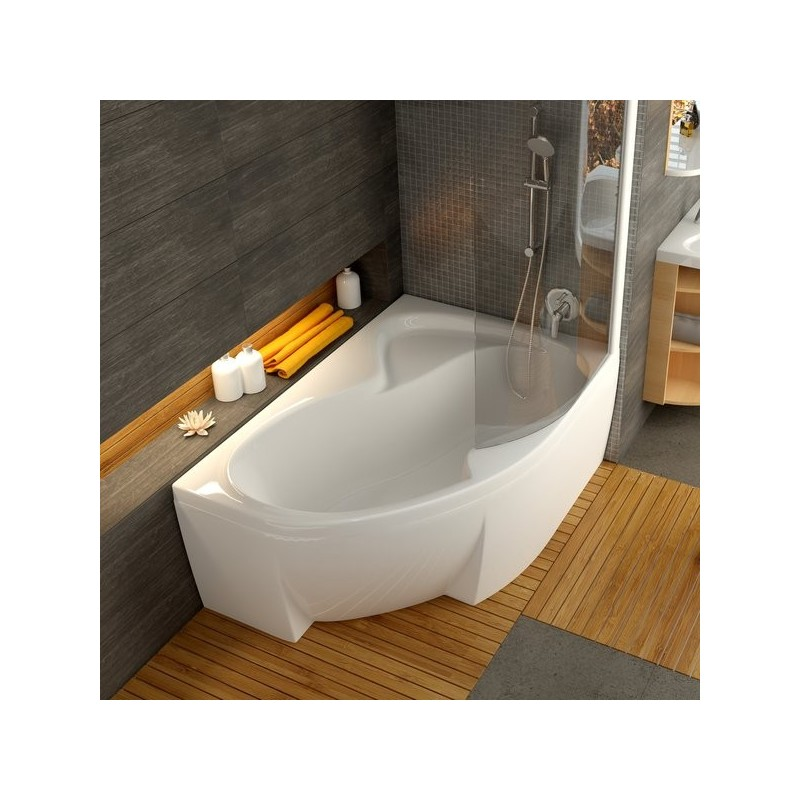 Asimetrinė vonia Ravak Rosa II 1700*1050 mm