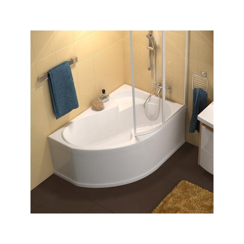 Asimetrinė vonia Ravak Rosa I 1400*1050 mm