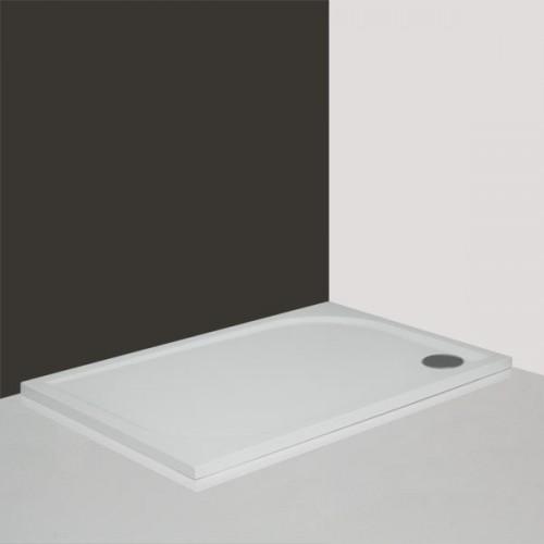 Roth Rectan-M 1000*800 mm, stačiakampis dušo padėklas iš lydyto marmuro