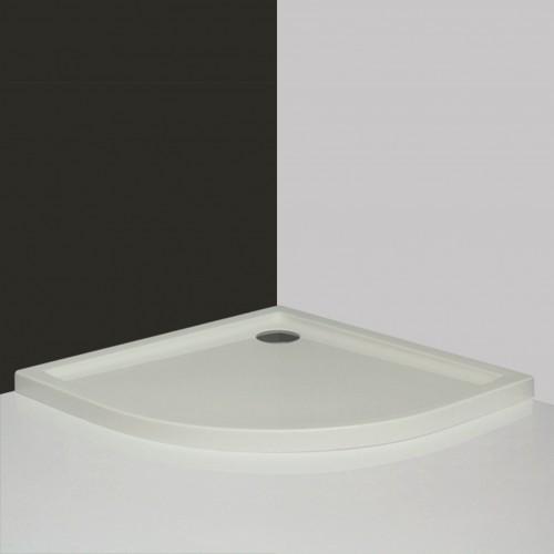 Roltechnik Flat Round 800*800 mm pusapvalis dušo padėklas