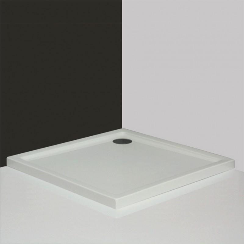 Roltechnik Flat Kvadro 800*800 mm kvadratinis dušo padėklas