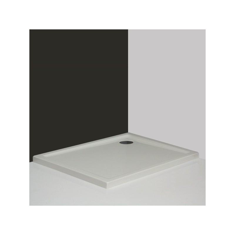 Roltechnik Flat Kvadro stačiakampis akrilinis dušo padėklas