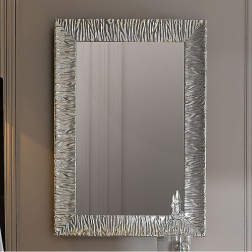 Kerasan Retro veidrodis su juodu blizgiu rėmu 70x100 cm 736501 (spalvų pasirinkimas)