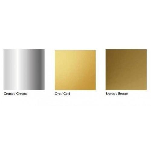 Lentynėlė voniai Kerasan Retro chromo spalvos su stiklu 60 cm 741990 (spalvų pasirinkimas)