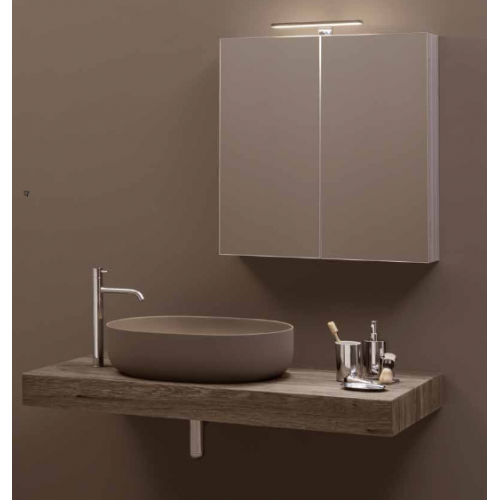 Kerasan Nolita LED vonios kambario sieninis šviestuvas 921801 30 cm chromo spalvos