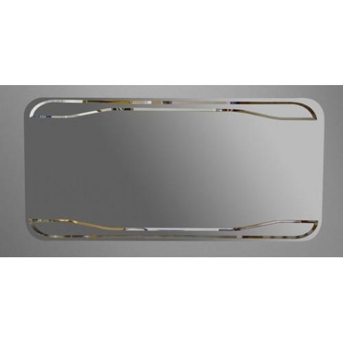 Kerasan Waldorf veidrodis su pašvietimu ir jungikliu 150x70 cm 740501