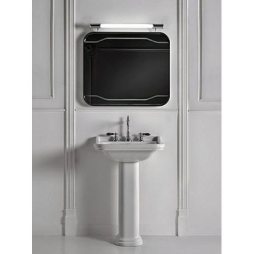 Kerasan Waldorf veidrodis su pašvietimu ir jungikliu 80x70 cm 740701