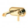 Omnires Armance maišytuvas praustuvui iš sienos aukso sp.