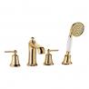 Omnires Armance maišytuvas voniai 4 dalių aukso spalvos