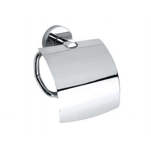 Bemeta Omega tualetinio popieriaus laikiklis su dangteliu
