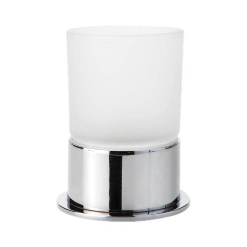 Bemeta Omega apvali pastatoma stiklinė su laikikliu