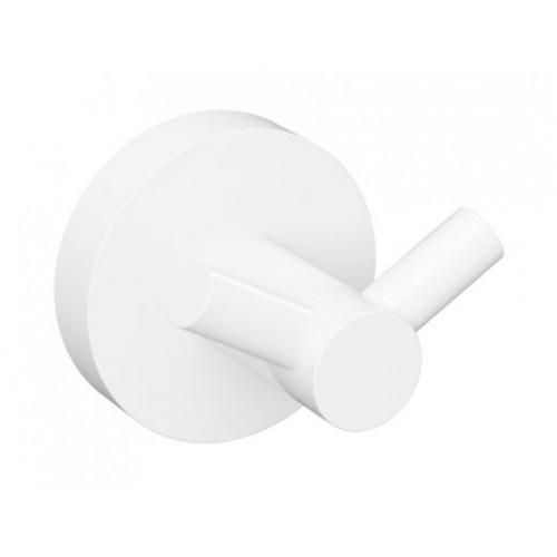 Bemeta White dvigubas kabliukas baltos spalvos