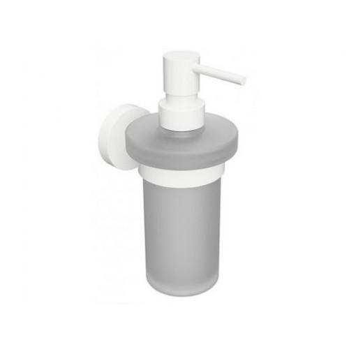 Bemeta White pakabinamas stiklinis dozatorius skystam muilui 230 ml