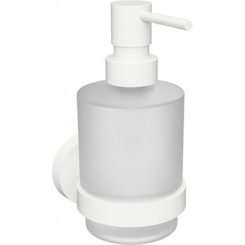 Bemeta White MINI pakabinamas stiklinis dozatorius skystam muilui 200 ml