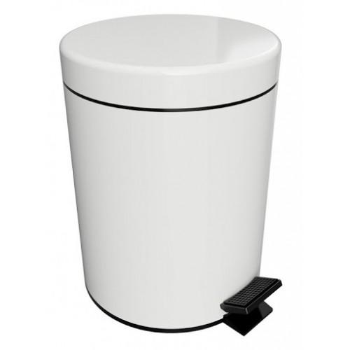 Bemeta White 5l šiukšliadėžė su dangčiu