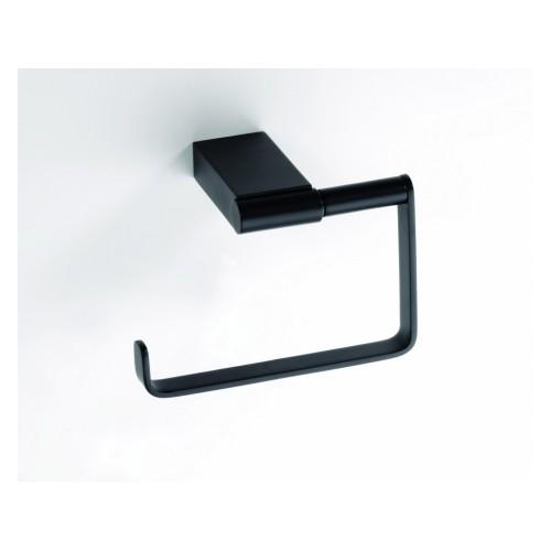Bemeta Nero WC popieriaus laikiklis be dangtelio juodos spalvos