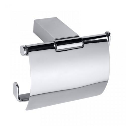 Bemeta Via tualetinio popieriaus laikiklis su dangteliu