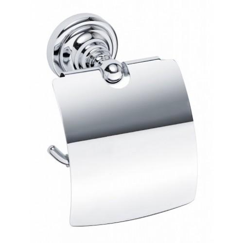 Bemeta Retro tualetinio popieriaus laikiklis su dangteliu (spalvų pasirinkimas)