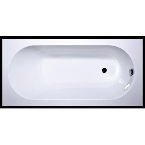 Vispool Libero 170x80 cm stačiakampė akmens masės vonia