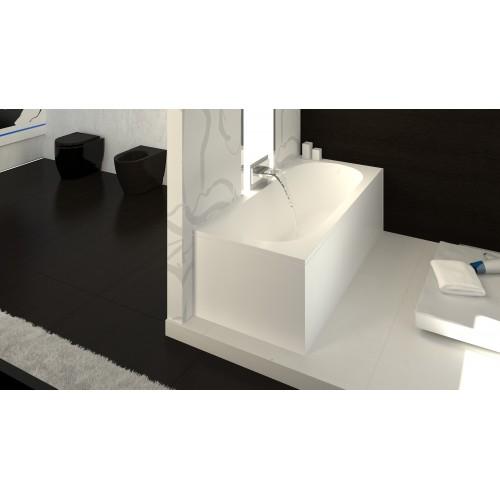 Vispool Libero 180x80 cm stačiakampė akmens masės vonia