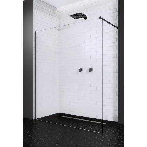 Radaway Modo New Black II stabili dušo sienelė 90 cm