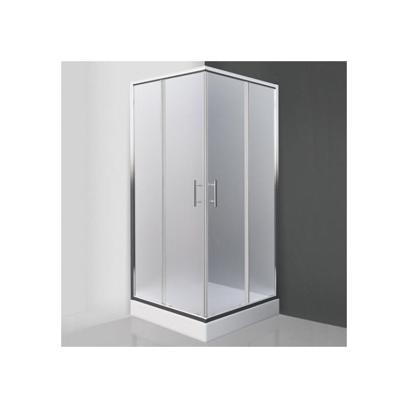 Kvadratinė dušo kabina SaniPro Orlando Neo/800