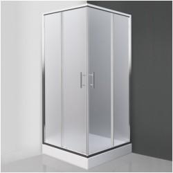 Kvadratinė dušo kabina SaniPro Orlando Neo/900
