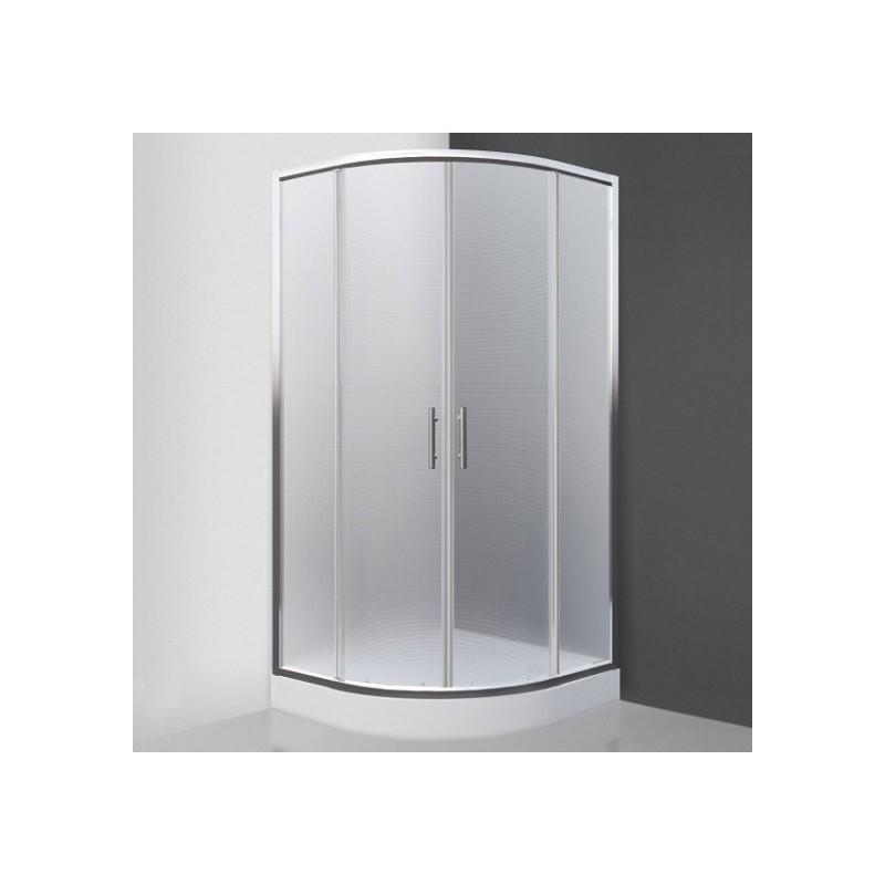 Pusapvalė dušo kabina SaniPro Houston Neo/800