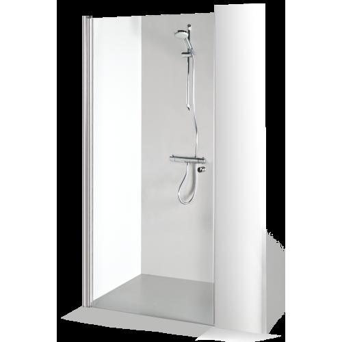 Brasta Glass dušo durys Greta 80 cm, stiklo spalva pasirinktinai