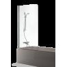 Brasta Glass vonios sienelė Maja 70x150cm, stiklo spalva pasirinktinai