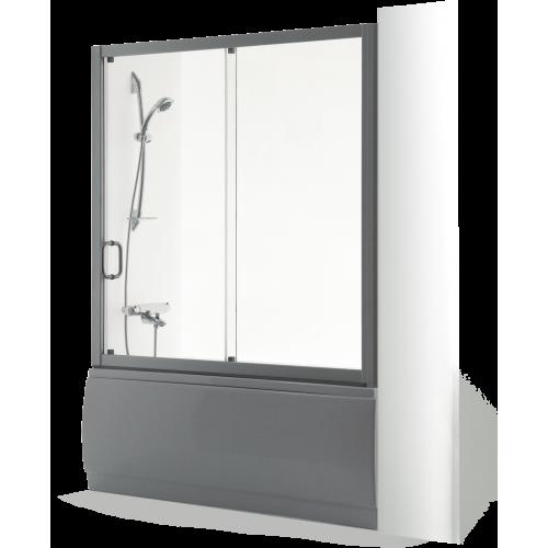 Brasta Glass vonios sienelė SVAJA 2 160 cm, stiklo spalva pasirinktinai