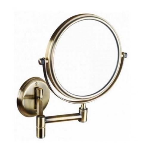 Bemeta kosmetinis veidrodis bronzos spalvos