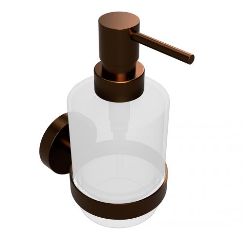Bemeta Amber MINI pakabinamas stiklinis dozatorius skystam muilui 200 ml